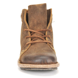 Vintage Lace-Up Suede Boots