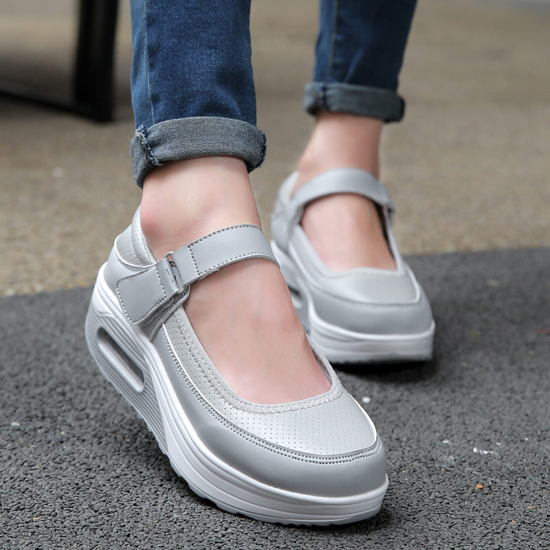 Breathable Casual Platform Shoes