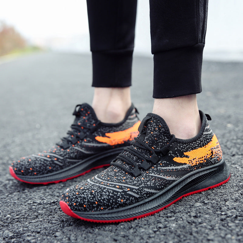 Flying Woven Breathable Running Sneakers
