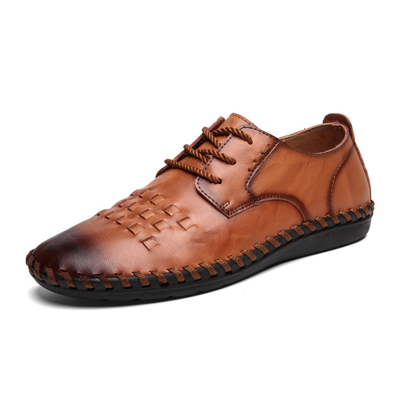Men's Handmade Casual Leather Shoes