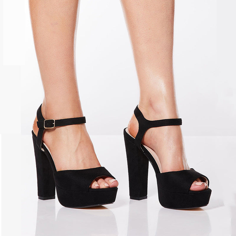 Fashion 13cm High Heel Large Size Shoes