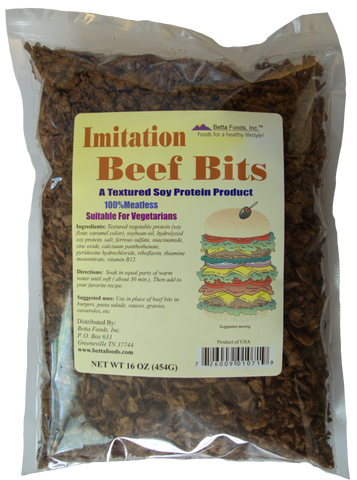 Imitation Beef Flavored Bits