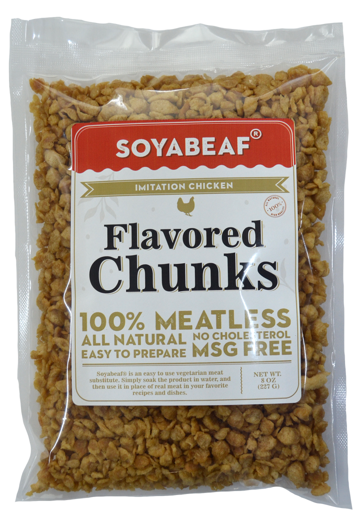 Soyabeaf® Imitation Chicken Flavored Chunks