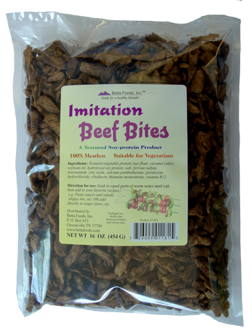 Imitation Beef Bites (Flavored)