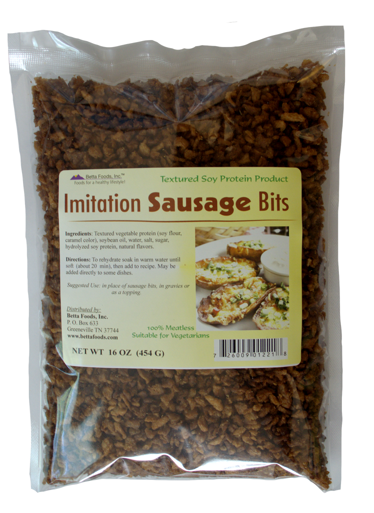 Imitation Sausage Bits (Flavored)