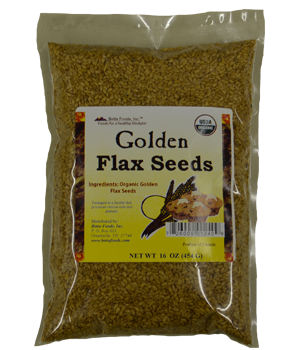 Golden Flax seeds (Organic)