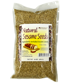 Natural Sesame Seeds (organic)