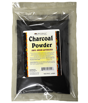Betta Foods Activated Charcoal Powder 6 OZ