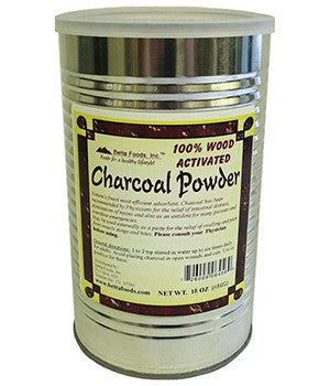 Betta Foods Activated Charcoal Powder 18 OZ