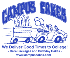 Campuscakes.com - Care packages and birthday cakes for students away at college
