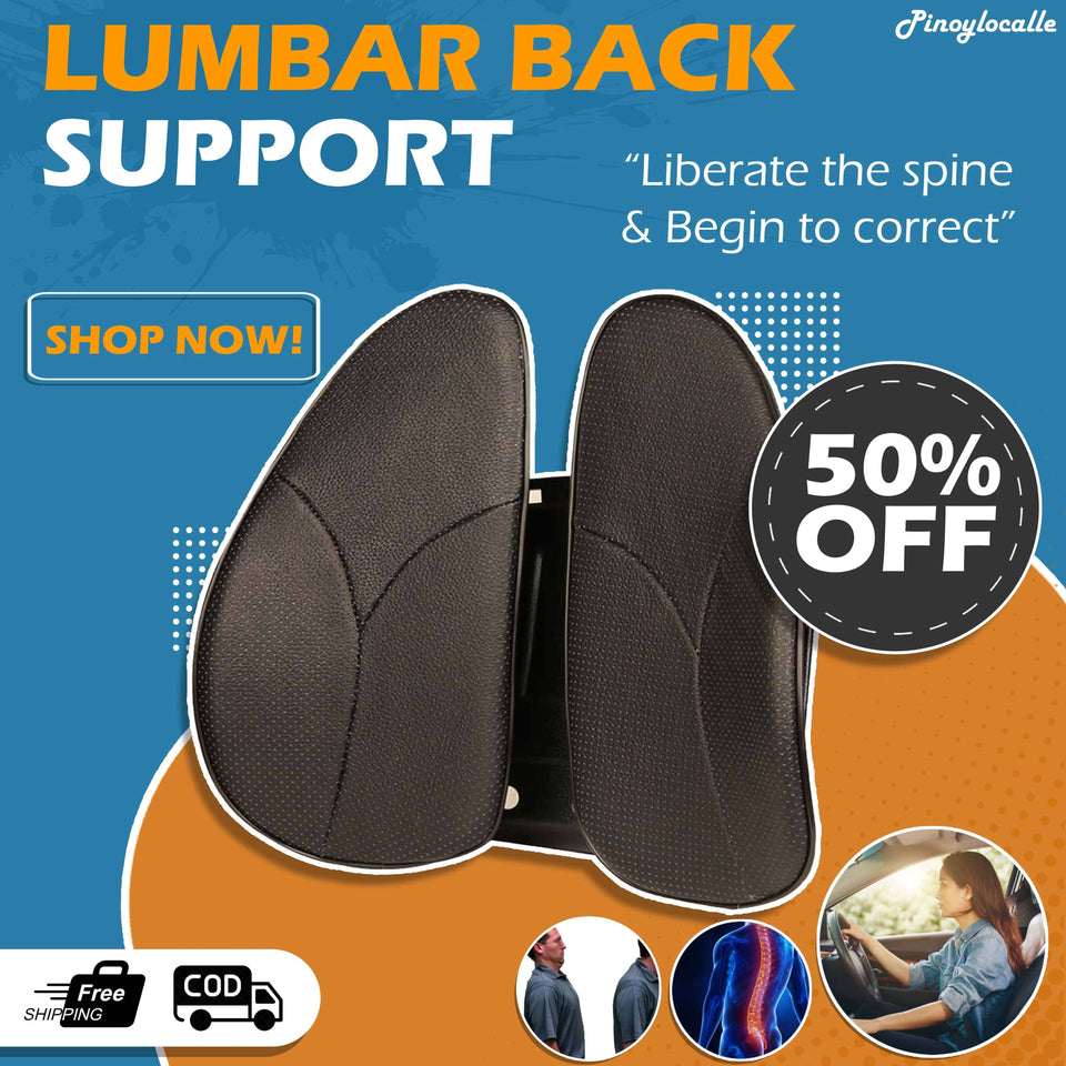 Double-Winged Lumbar Back Support