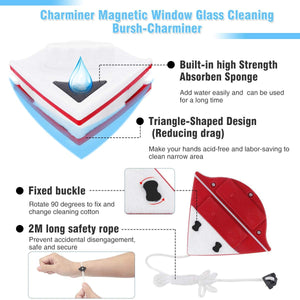 Handled Glass Window Cleaner