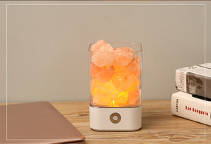Negative Ion Releasing Himalayan Salt Lamp (White)