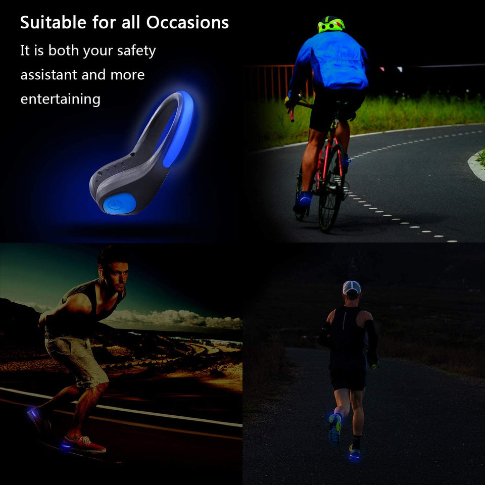 Zafetee- Running LED Shoe Clip (2pcs)