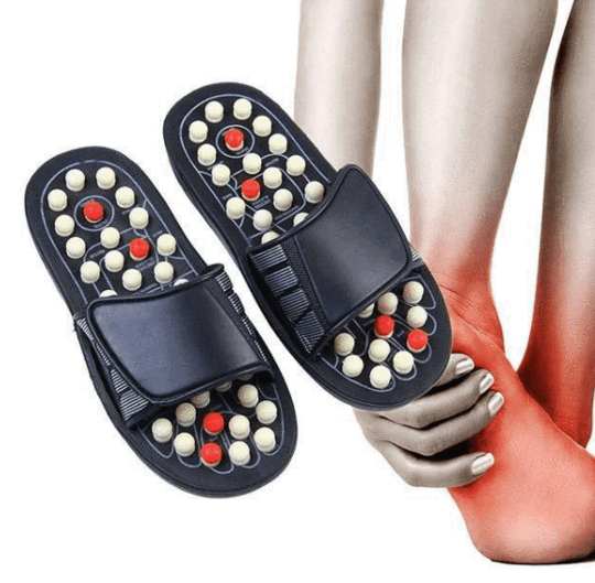 ACUPRESSURE FOOT MASSAGE SLIPPERS