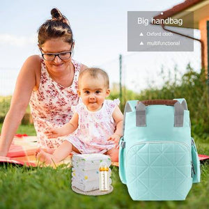 MUMMY MATERNITY LARGE CAPACITY BAG TRAVEL NURSING BACKPACK FOR BABY CARE