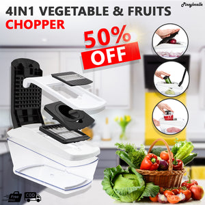 4in1 Vegetable & Fruits Cutter