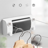 Punch-free  Retractable Clothesline