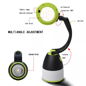 3in1 Multifunction Flash Light  Lamp