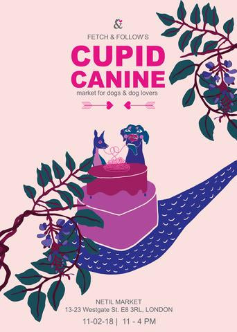 cupid canine valentines dog market