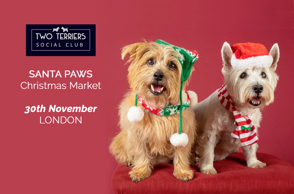 TWO TERRIERS CHRISTMAS MARKET