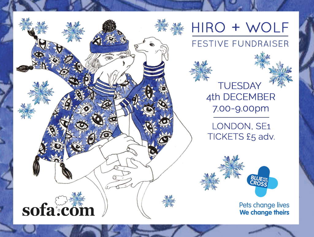 FESTIVE FUNDRAISER | TUESDAY 4th DECEMBER 7-9pm