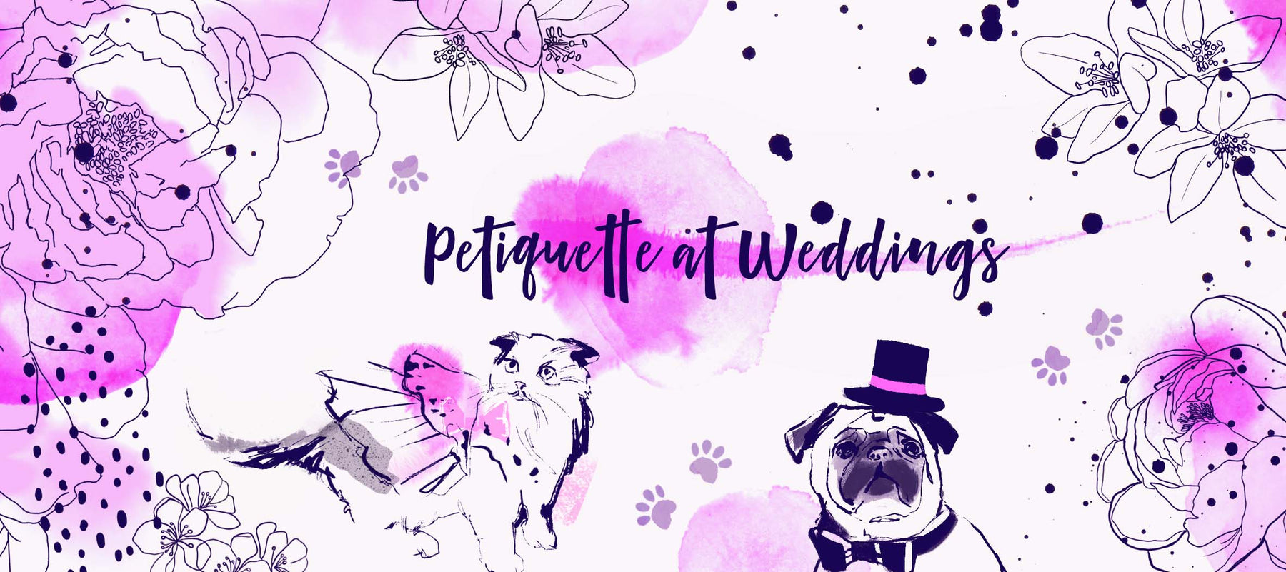 How to Include Pets at your Wedding