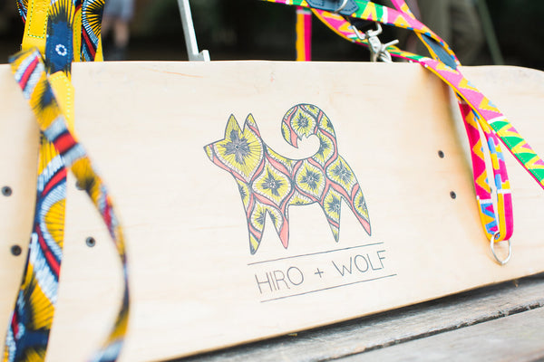 Hiro + Wolf x Eroc Dog 'Valour' and 'Fatefulness' Dog Leads