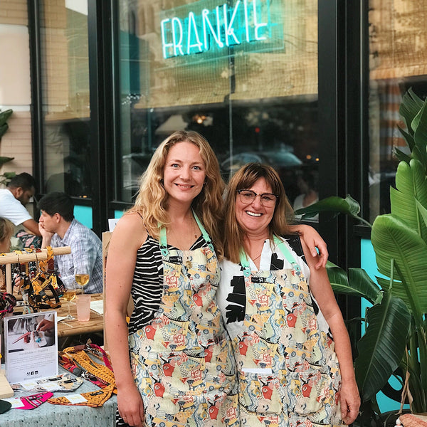 Amy Fleuriot and Bee Friedmann of Hiro + Wolf at Frankie Eats JC