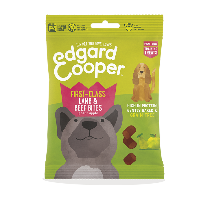 Edgard Cooper First-Class Lamb & Beef Bites for Dogs