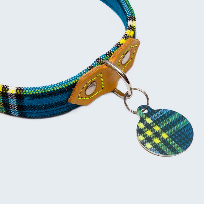 'Shuka Blue' Pet Tag