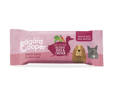 Edgard Cooper Duck and Chicken Snack Bar for Dogs