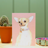 The Chihuahua Greetings Card