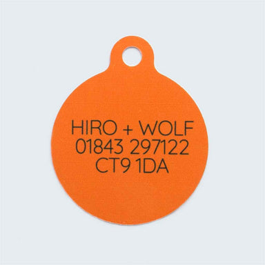 'Fireworks' Pet Tag