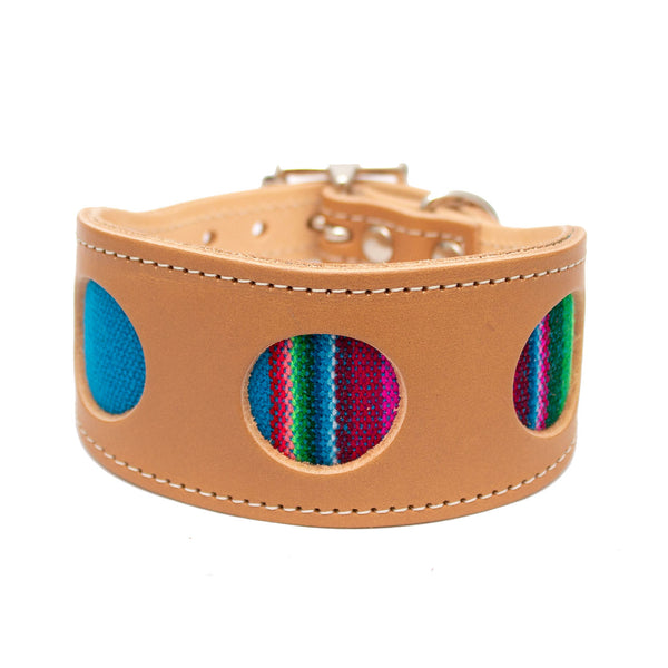 Inca Blue Hound Collar