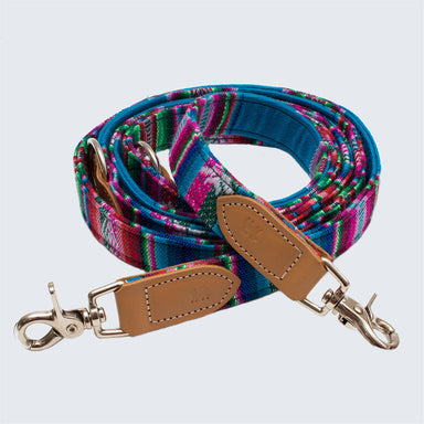 Inca Blue Hands Free (Coupler) Dog Lead