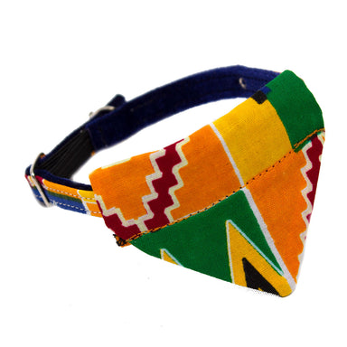 Kente Cat Bandana