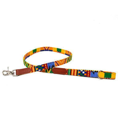 Kente Classic Dog Lead