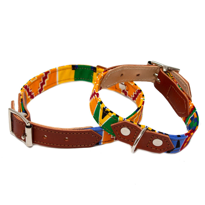 Kente Dog Collar
