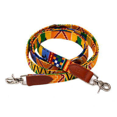 Kente Hands Free (Coupler) Dog Lead