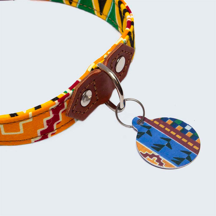 'Kente' Pet Tag