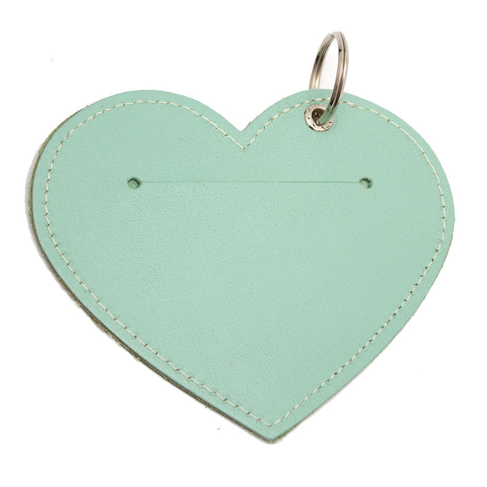 Poo Pouch Heart 'Mint Leather'
