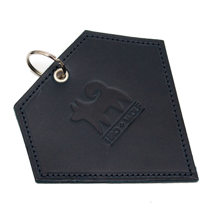Poo Pouch Diamond 'Navy Leather'