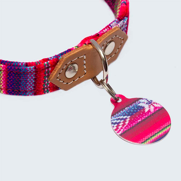 'Inca Pink' Pet Tag