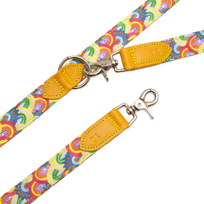 Over the Rainbow Hands Free (Coupler) Dog Lead