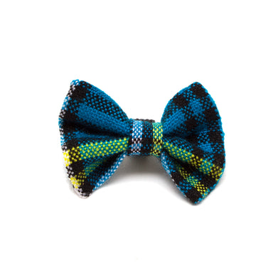 Shuka Blue Cat Bow Tie