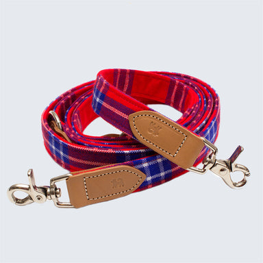 Shuka Red Dog Hands Free (Coupler) Dog Lead