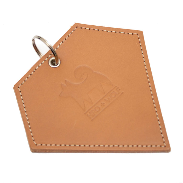 Poo Pouch Diamond 'Tan Leather'