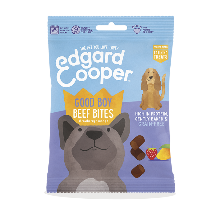 Edgard Cooper Good Boy Beef Bites for Dogs