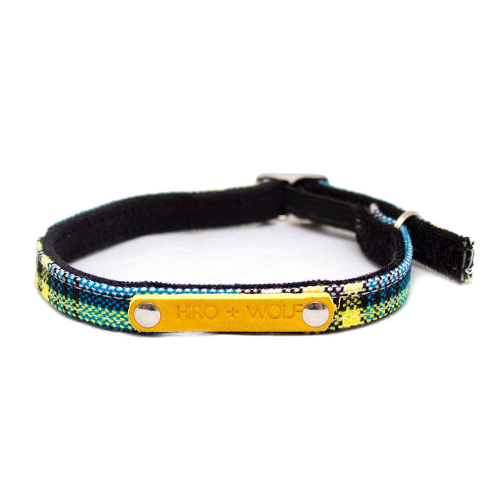Shuka Blue Cat Collar